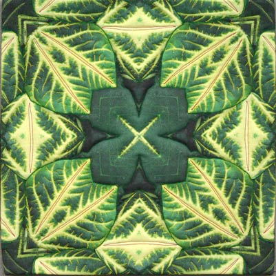 Nature Kaleidoscope Tropical Leaves Manipulated Images Of